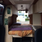 Camperverhuur_bed